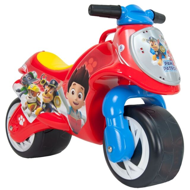 Kids Ride On Boys Motorbike Colorful Stylish Paw Patrol