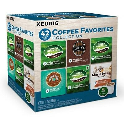 Keurig Variety Pack Collection Coffee Favorites K Cups 42 Count