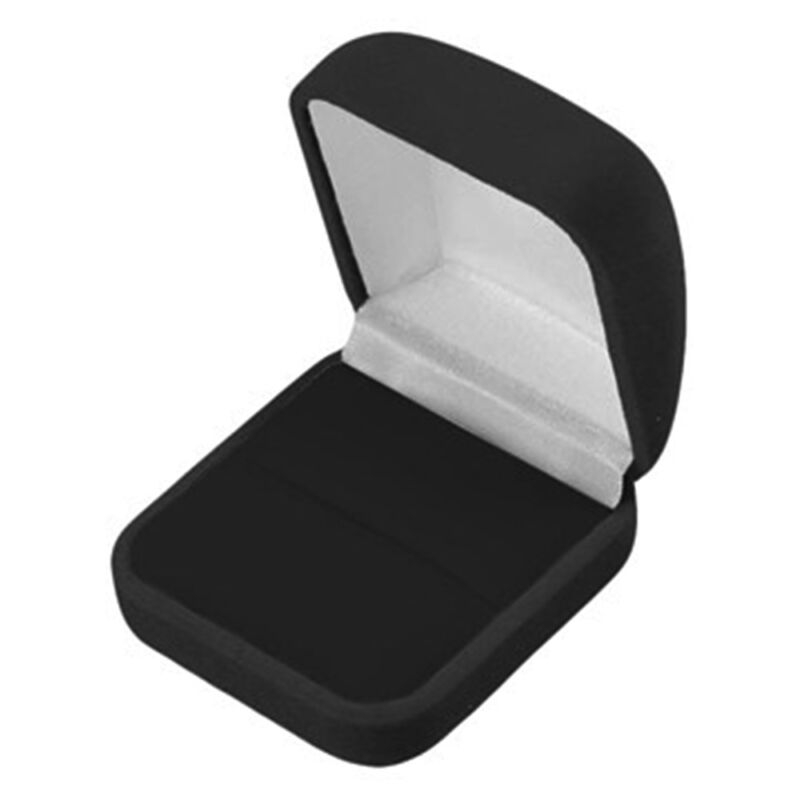 Wholesale Lot of 48 Black Velvet Ring Jewelry Packaging Display Gift Boxes LG
