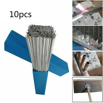 10 Pcs 50cm1.64ft 1.6mm Solution Welding Flux-cored Rods Aluminum Wire Brazing