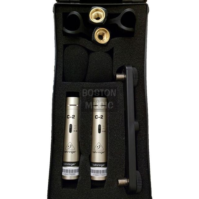 behringer c 2 condenser cable professional microphone ebay. Black Bedroom Furniture Sets. Home Design Ideas