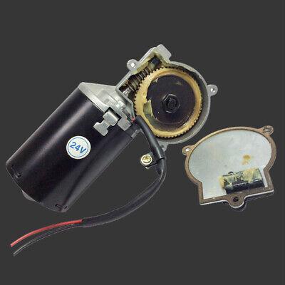 Dc 12v 24v Electric Motor Leftright Angle Reversible Gear Motor Garage Door