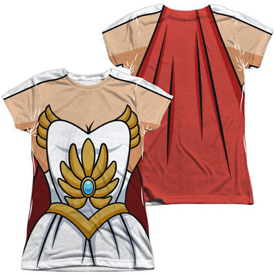 She-ra Princess Of Power Costume (New Authentic She-Ra Princess of Power Costume Outfit Uniform Front Back)