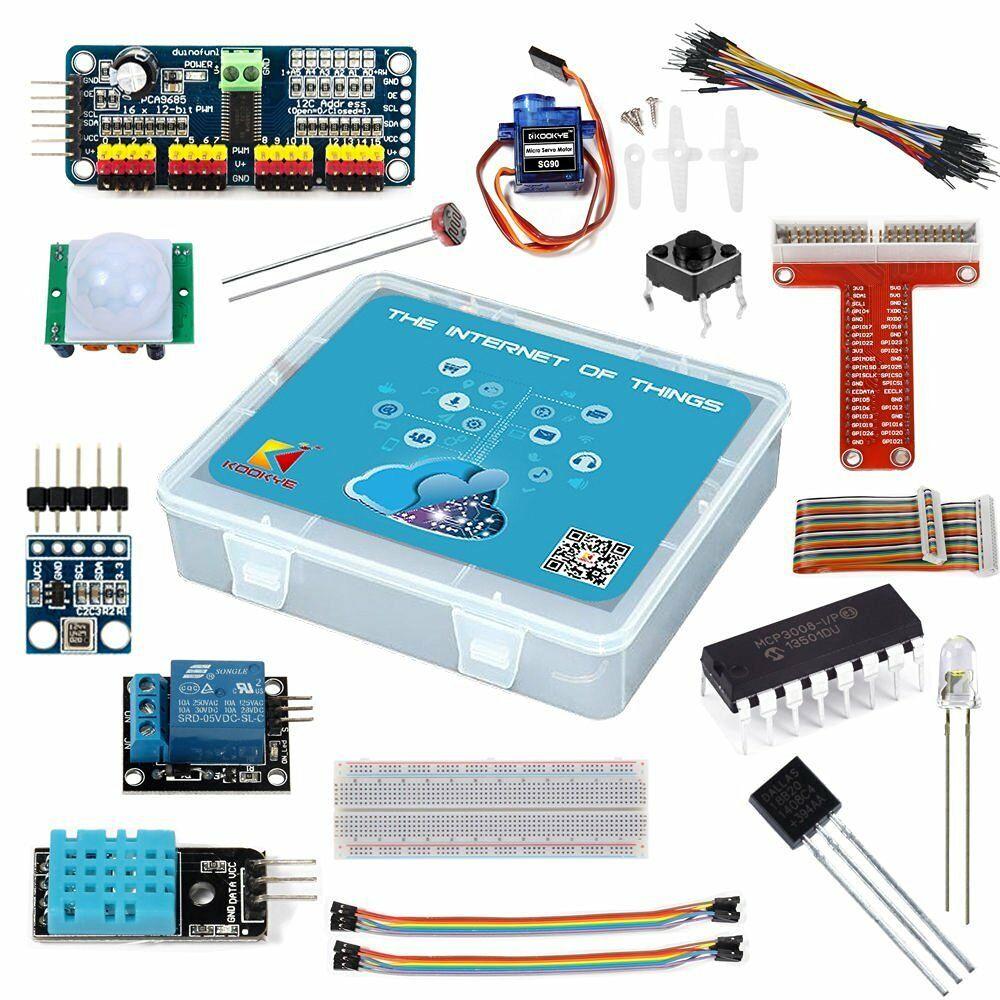 Details about Smart Home IOT Internet of Thing Starter Kit for Raspberry Pi  3 DIY Project