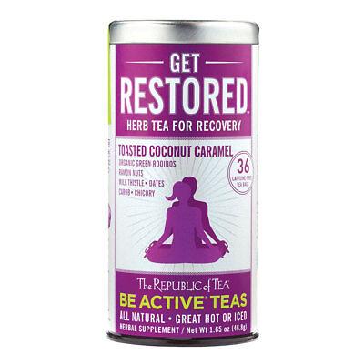The Republic Of Tea Be Active Green Rooibos Tea - Get Restored - Herbal Tea For - Herbal Actives Green Tea