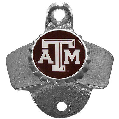 Texas A&M Aggies Wall Mount Bottle Open NCAA Licensed Bar Man Cave ()