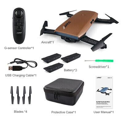 Original JJRC H47 720P Camera Foldable RC Selfie Quadcopter with 3 Battery I4K8