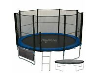 8ft, 10ft, 12ft trampolines for sale full set up