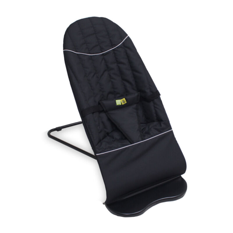 Vee Bee Baby Minder Classic Cushioned Rocker/Bouncer for Infant Seat/Chair Black