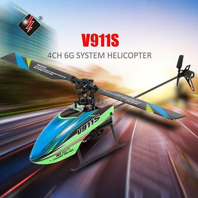 WLtoys V911S 4CH 6G Non-aileron RC Helicopter with Gyroscope for Training J5S9