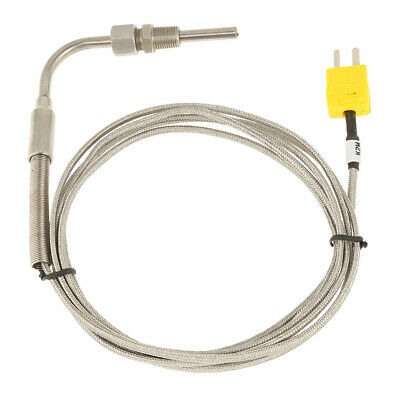 2m Egt Mini K Type Thermocouple Exhaust Probe High Temperature Sensors Threads