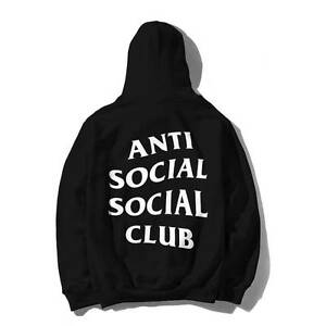 Anti Social Social Club Mind Games Black Hoodie Size S & M Carlton Melbourne City Preview