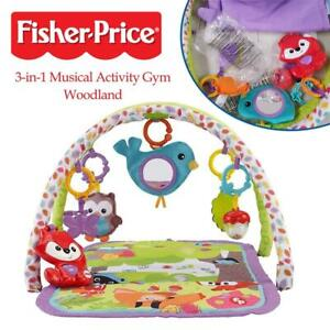 Used Fisher-Price 3-in-1 Musical Activity Gym, Woodland Condtion: Used, Woodland