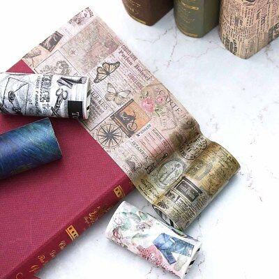 9/10cm*5m Decorative Cute Sticky Paper Wide Style Washi Tape Scrapbook Sticker