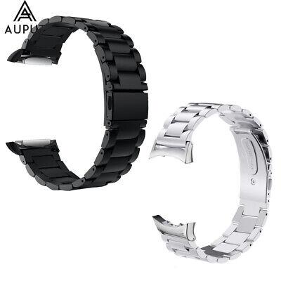 Edelstahl Ersatz Uhrenarmband für Samsung Gear Fit 2 Pro SM-R365/ Fit 2
