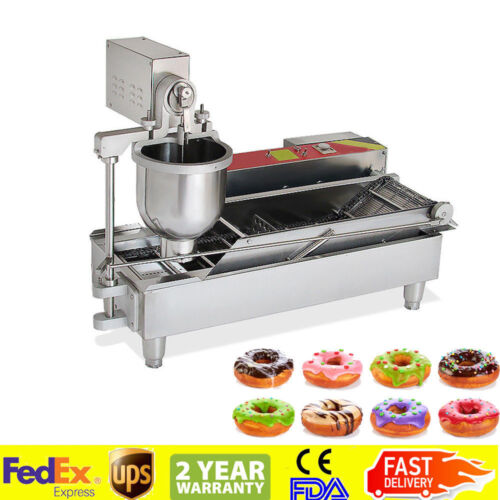 2019 NEW DONUT MAKER MAKING MACHINE GOLDEN DONUTS MINI DONUTS WIDER OIL TANK CE
