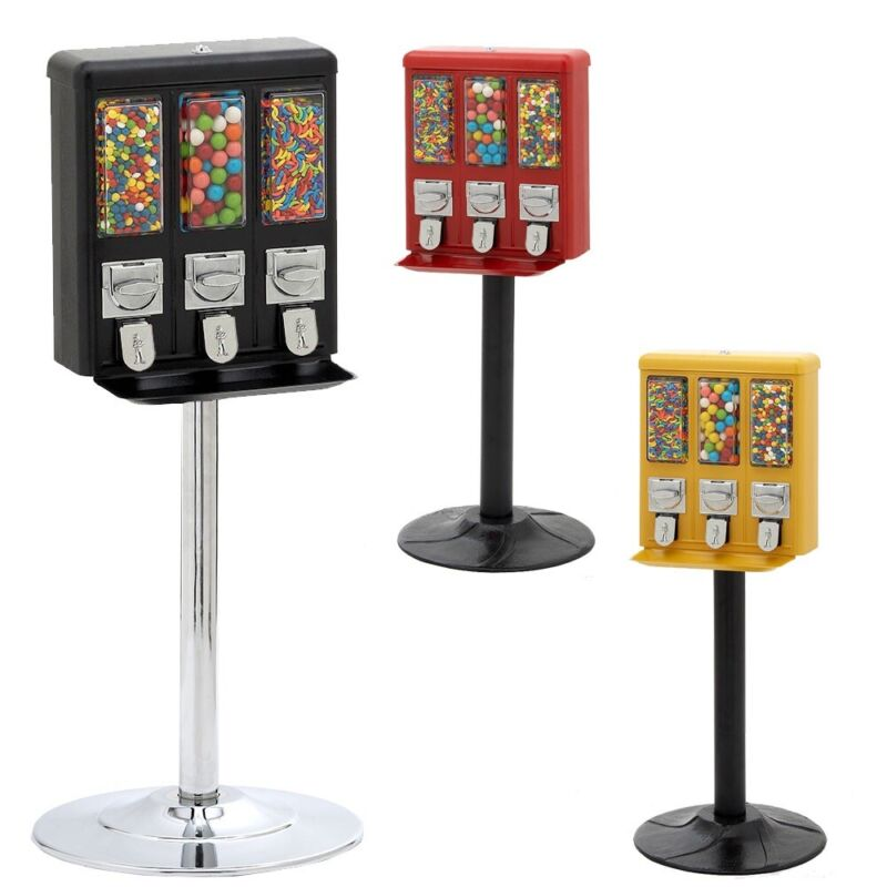 Triple Shop Gumball and Candy Machine