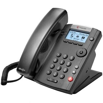 Polycom Vvx 201 Voip Business Dual Line Phone 2200-40450-001