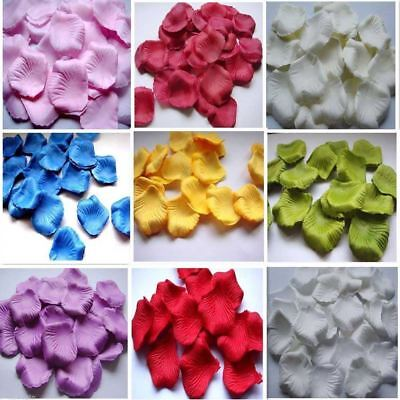 100-5000 Decoration Table Confetti Gift Flower Rose Petals Wedding Party Floral - Table Confetti