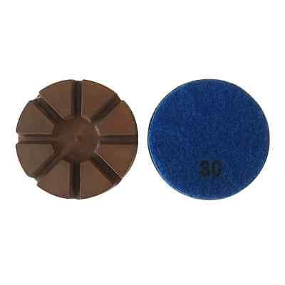 3 30 Grit Metal Bond Diamond Polishing Pad For Concrete Floor 3pcs