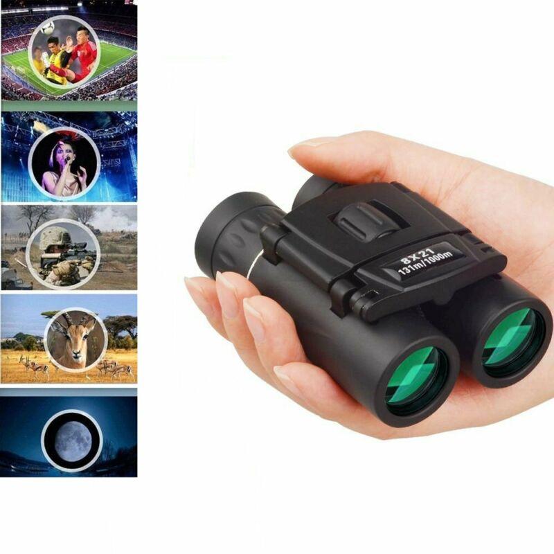 New Vision Mini Binoculars 8 x 21 Zoom Outdoor Travel Folding Telescope ys