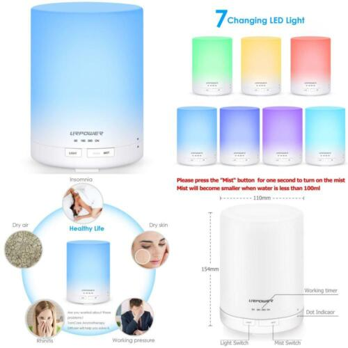 URPOWER 2nd Night Light Ultrasonic Gen 300ml Aroma Essential
