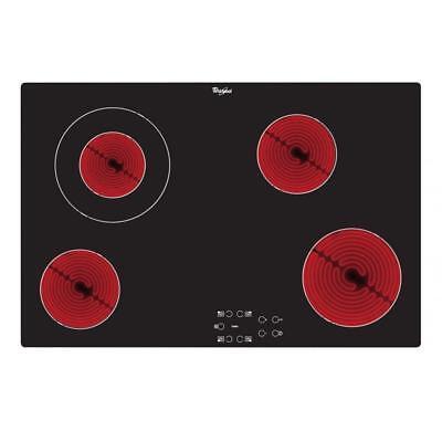 Whirlpool AKT833NE   77cm Touch Control Ceramic Electric Hob - Black
