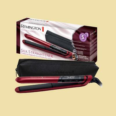 Professional Lcd-display (Remington Haarglätter / Glätteisen Professional Silk  S 9600 - LCD Display - rot)