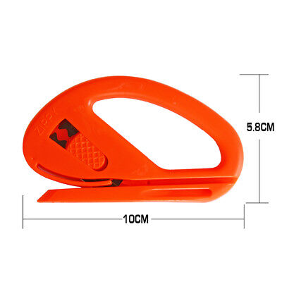 Snitty Safety Cutter Vinyl Graphic Car Wrapping Tinting Tool Carbon Fiber Design