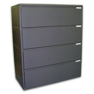 Herman-Miller-42-Meridian-4-Drawer-Lateral-Files-File-Filing-Cabinet