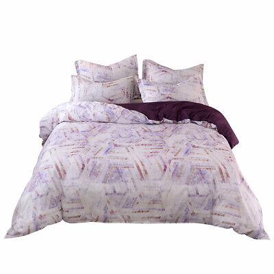 Cotton Comforter Duvet Set - Bohemia Washed Cotton Duvet Cover Set + Pillow Shams for Comforter Ultra Soft