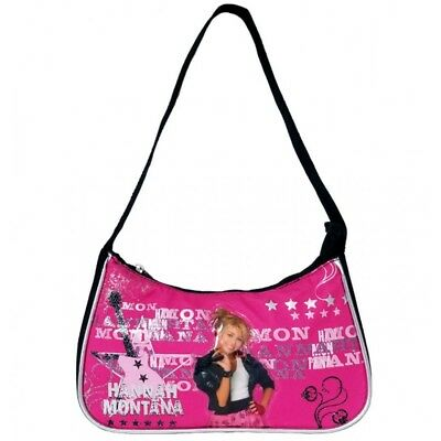Disney Hannah Montana Girls Kids Pink Handbag/Shoulder Bag Hannah Montana Purse Handbag