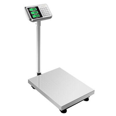 660lb 300kg Digital Floor Platform Scale Digital Shipping Postal Tabletop Scales
