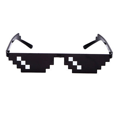 Thug Halloween Costume (Thug Life Boss 8-Bit Classic Retro Sunglasses WorldStar Gang Christmas GIFT)