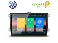 "VW / Seat / Skoda Volkswagen HD 9"" Android Bluetooth GPS SatNav Car WiFi Player USB SD Stereo £199"