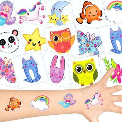 German Trendseller® - Süßes Kinder Tattoo - Set | NEU | Mitgebsel
