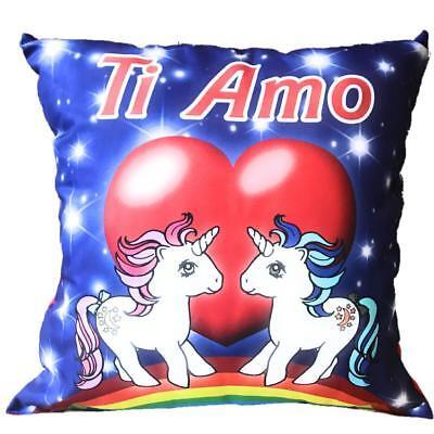 Cuscino Unicorno Ti Amo Regalo x San Valentino 45x45 Cm PS 26423