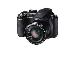 FUJI S4900 14MP Digital Zoom Camera Black Body MP NEW