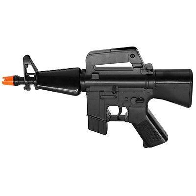 - HFC M16 M4 MINI FULL AUTO ELECTRIC AIRSOFT GUN AEG AUTOMATIC PISTOL RIFLE w/ BB