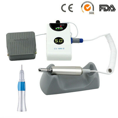 Dental Lab Portable 50000rpm Micromotor Brushless Grinding Machine Straight