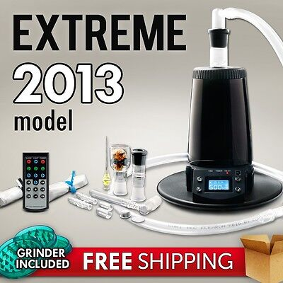 2013 Arizer Extreme Q Digital Vaporizer - FULL WARRANTY - Brand New + BONUS on Rummage