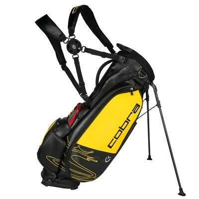 COBRA SPEEDZONE STAND GOLF BAG 90944201 BLACK/YELLOW - NEW 2020