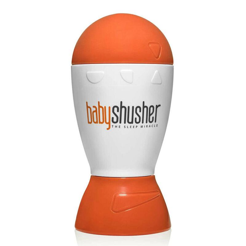Baby Shusher Soothes Newborn Portable Rhythmic The Sleep Miracle w/Straps Orange