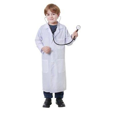 Blouse Médicale Moyenne Pour Enfants - Coat Fancy Dress Lab Costume - Kostüm Medicale