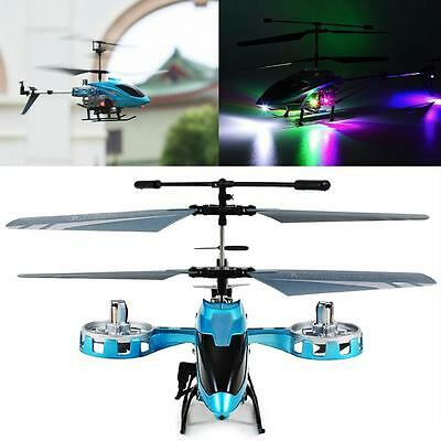 Avatar M 302 Ir 2 4G 4Ch Rc Remote Control Helicopter Led Light Gyro Rtf Blue