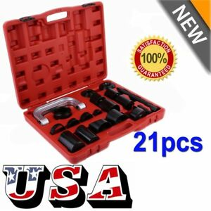 21PCS Press Car Ball Joint Repair Tool Service Kit Remover Installer NEW