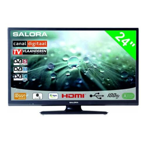 "Salora 24"" LED 9109 DVB C/T/S-S2"