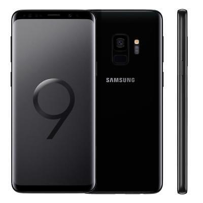 SAMSUNG GALAXY S9 64GB 4GB RAM MIDNIGHT BLACK MONO SIM GARANZIA ITALIA 24 MESI