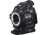 Canon EOS C100 C300 C500 Cinema Camera Wanted - EF Mount DPAF