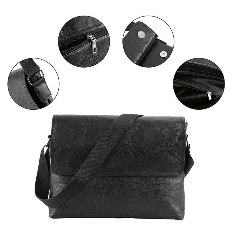 9d20d42e5d ... NEW Hot Jeep Men's Cross body Shoulder Casual Letter Messenger PU Leather  Bag фото ...